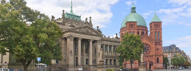 Palais de justice de Strasbourg